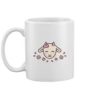 Cute Baby Goat Mug -Image door Shutterstock
