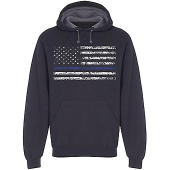 American Police Usa Law Hoodie Men's -Image by Shutterstock