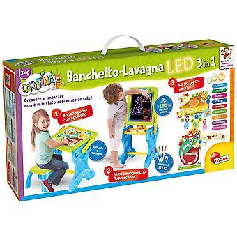 Lisciani carotina banchetto led gioco e imparo 3 in 1