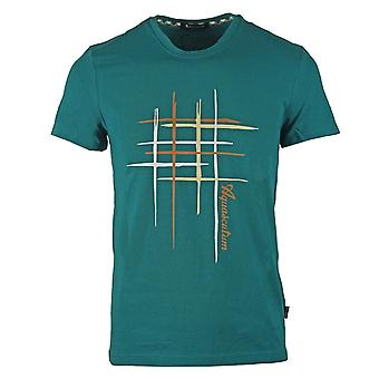 Aquascutum Crew Neck Green T-Shirt