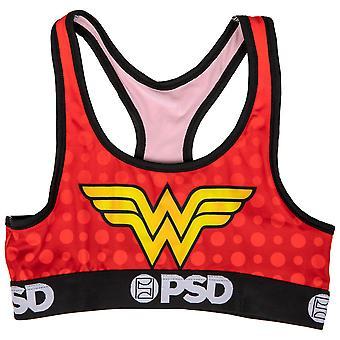 DC Wonder Woman Symbol Mikroszálas Blend Sport Melltartó