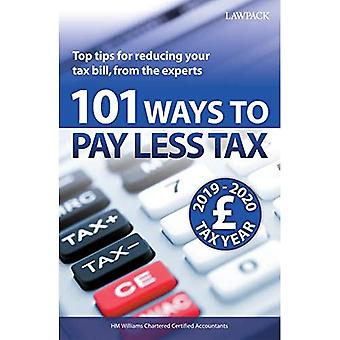 101 Ways to Pay Less Tax 2019/20: Top tips for reducing your tax bill, from the experts