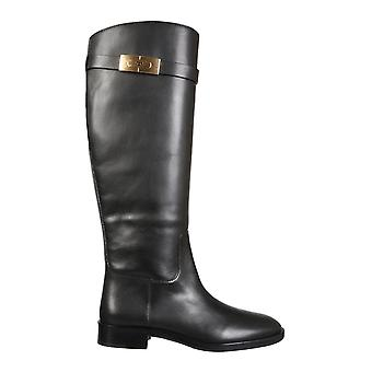 Tory Burch 77223006 Women's Black Leather Boots