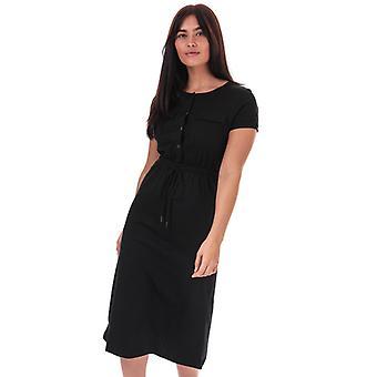 Women's Brave Soul Utility Dress in Black