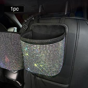 Kristall Strass Auto Aufbewahrungstasche, organisieren, r Barriere der Rücksitzhalter