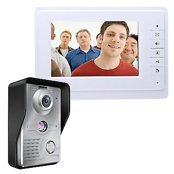 Wired Video Door Phone Visual Intercom System Doorbell Monitor Camera Kit