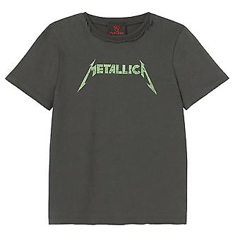 Amplified Metallica Logo Kids T-Shirt