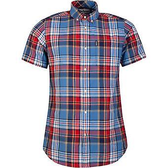 Barbour Madras 9 Short Sleeved Shirt