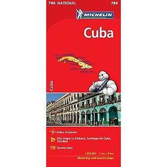 Cuba  Michelin National Map 786 Map Michelin National Maps 786