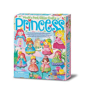 """4M """"2019"""" glitter princess mould and paint - multi-coloured"""