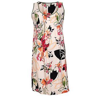 Cyberjammies Natalie 4798 Femmes & s Peach Mix Floral Cotton Nightdress