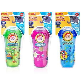 Nuby insulated cool sipper all 3 supplied