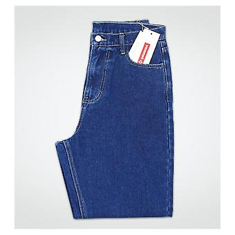 Cotton Vintage High Waist Mom Jeans, Women`s Denim Pants