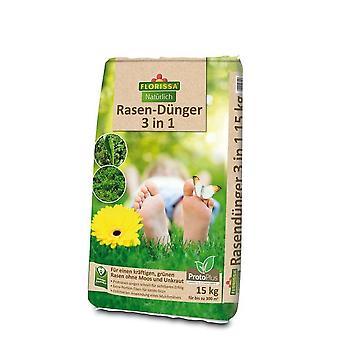 FLORISSA Lawn Fertilizer 3in1 Proto Plus, 15 kg