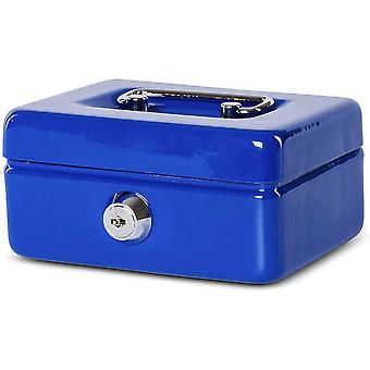 MAUL Cash Money Box with Coin Slot, Cylinder Lock with 2 Keys, 125 x 95 x 60 mm