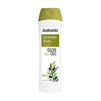 Bath Gel With Olive Oil 600 ml of gel