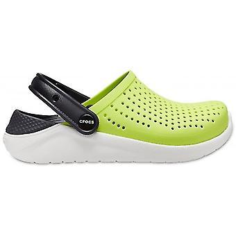 Crocs 205964 Literide Lapset Tukkeutuminen Lime Punch /musta