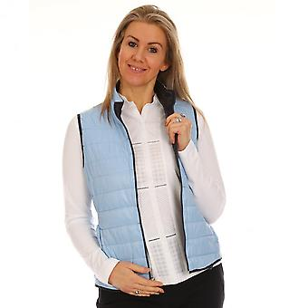 JUST WHITE Just White Blue Gilet 43725