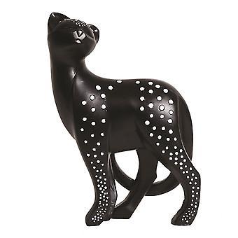 Straits Polka Dot Cat Decor 29cm Ornament Figurine