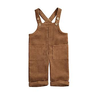 Summer Toddler Overalls Infant Baby Corduroy
