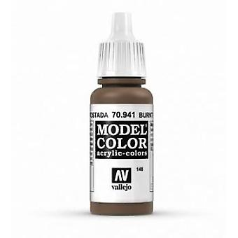 Vallejo Model Color 17ml Acrylic Paint - 941 Burnt Umber