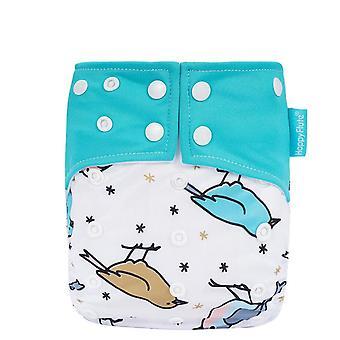 Suede Cloth Pocket Baby Cloth Diaper