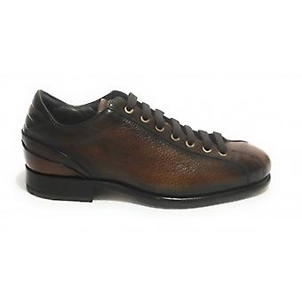Herrskor Harris Brown Leather Soccer BottenBrödSkorpa U17ha154
