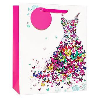 Simon Elvin Butterfly Dress Gift Bags (Pack of 6)