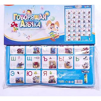 Russian Alphabet Number Word Phonetic Chart