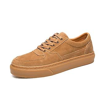 Brand Men's High-quality Leather Sneakers
