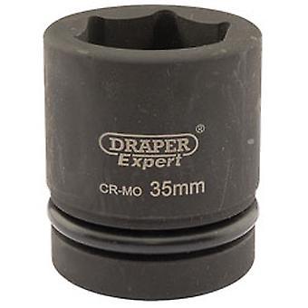 دريبر 5115 الخبراء 35 ملم محرك الأقراص مربعة 1-Torq النقطة 6 أثر مأخذ التوصيل