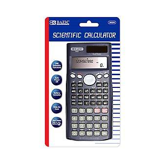 Bazic 240 Funzione Scientific Calculator W/ Slide-On Case