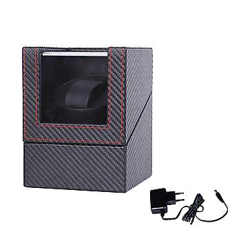Carbon Motor Shaker, Watch Winder Holder, Automatic Watch Winding Box