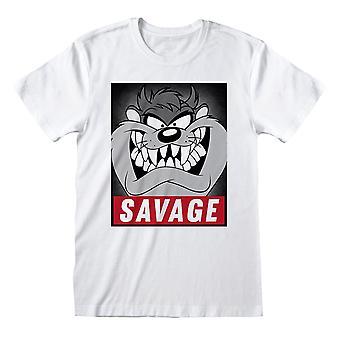 Looney Tunes Damen/Damen Savage Taz Lose Fit T-Shirt