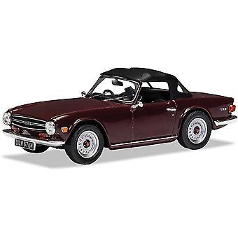 Triumph TR6 Damson (1969) Diecast Model Car
