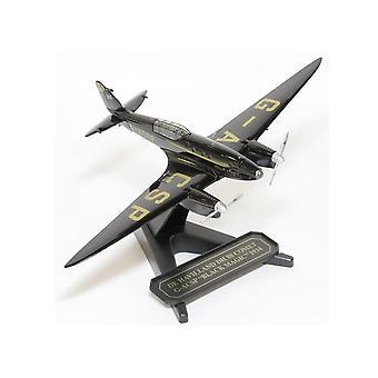 דה הווילנד שביט DH 88 G ACSP שחור הקסם Diecast מטוס דגם