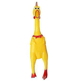 Screaming Chicken Trick Vent Ses Pet Oyuncak Squish Şaka Oyuncak Zor