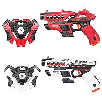Electric Laser Tag Infrared Guns Weapon Blaster Pistola Toy
