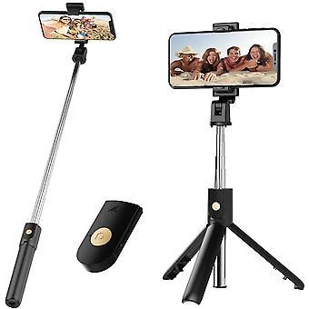 Mini Tripod Remote Control Selfie Stick Monopod Foldable Wireless Shutter