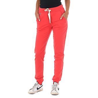 MET pantalones de mujer Nora Rojo
