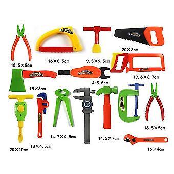 32Pcs wie gezeigt 32pcs Kinder reparatur Werkzeuge Spielzeug Kinder Rollenspiel vorgeben, Spielzeug set pädagogische lernspielzeug (rom Farbe) dt3796