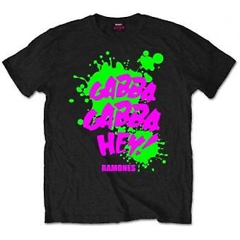 Ramones Gabba Gabba Hey Mens Svart T-shirt: X Stor