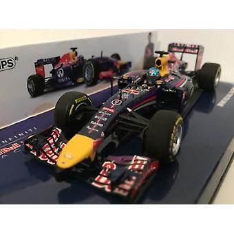 Minichamps 410140001 Infiniti Red Bull Racing RB10 S Vettel 2014