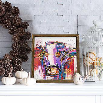 MZM693 Flerfärgad dekorativ MDF-målning