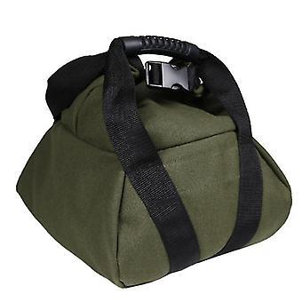 Borsa portatile in sabbia con manico in tela regolabile Sandbag (verde)