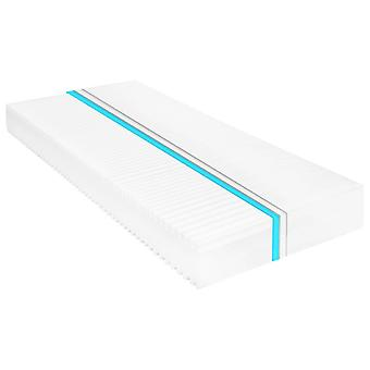 vidaXL mattress 90 x 200 cm 7 zones PU foam 16 cm H2 H3