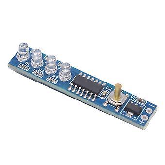 Accesorii circuit 1s/2s/3s/4s 3.7v litiu capacitatea bateriei indicator led display bord nivel de putere pentru 18650 litiu li-ion lipo baterie