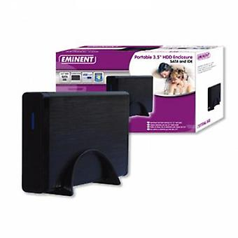 "External Box Eminent EW7047 2.5"" - 3.5"" IDE / SATA USB 2.0 Black"