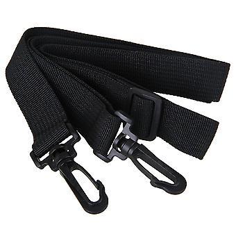 Camera straps plastic 25mm hook adjustable replacement shoulder strap for laptop bag black