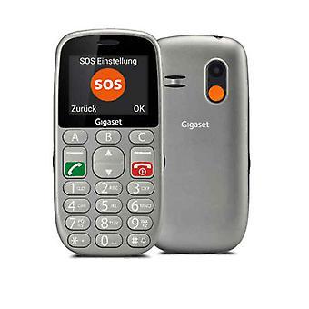 "Mobile telephone for older adults Gigaset GL390 2,2"" 2G 800 mAh Grey"